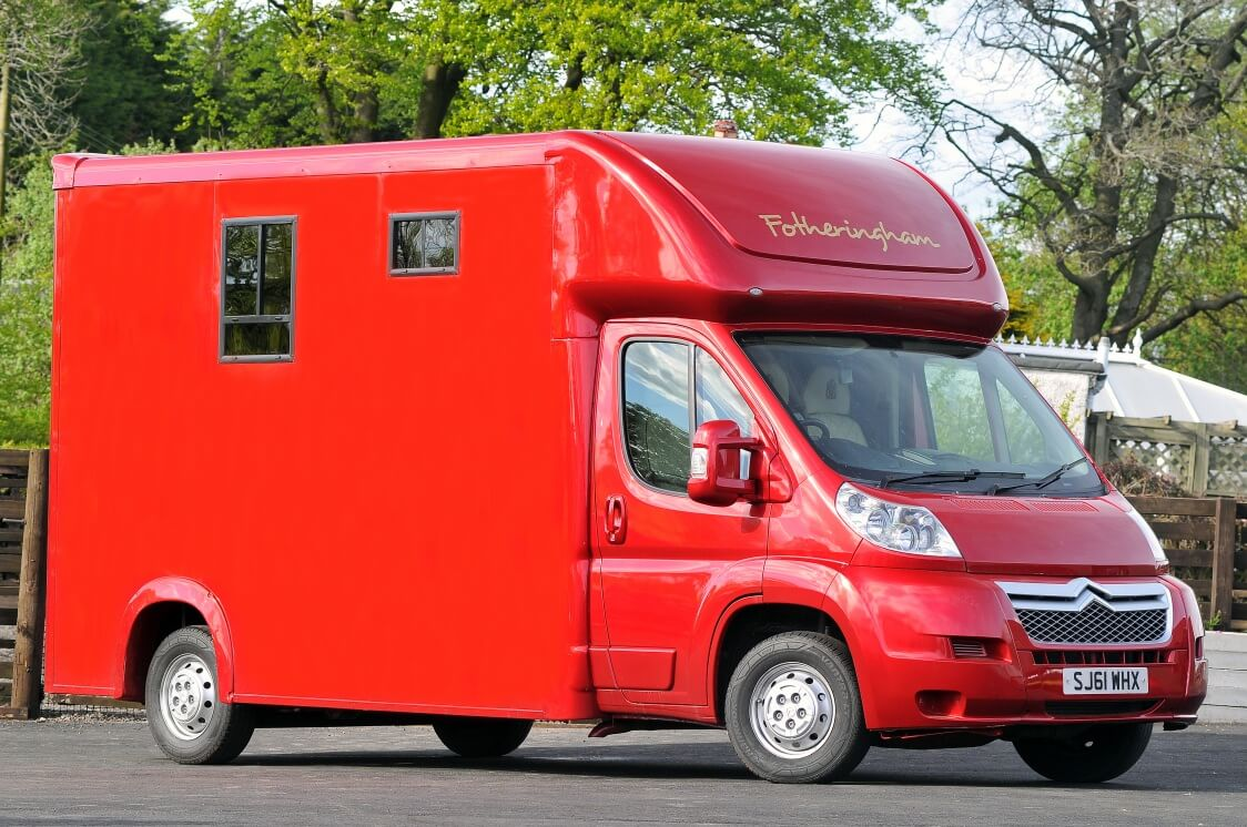 Citroen Relay Red T35