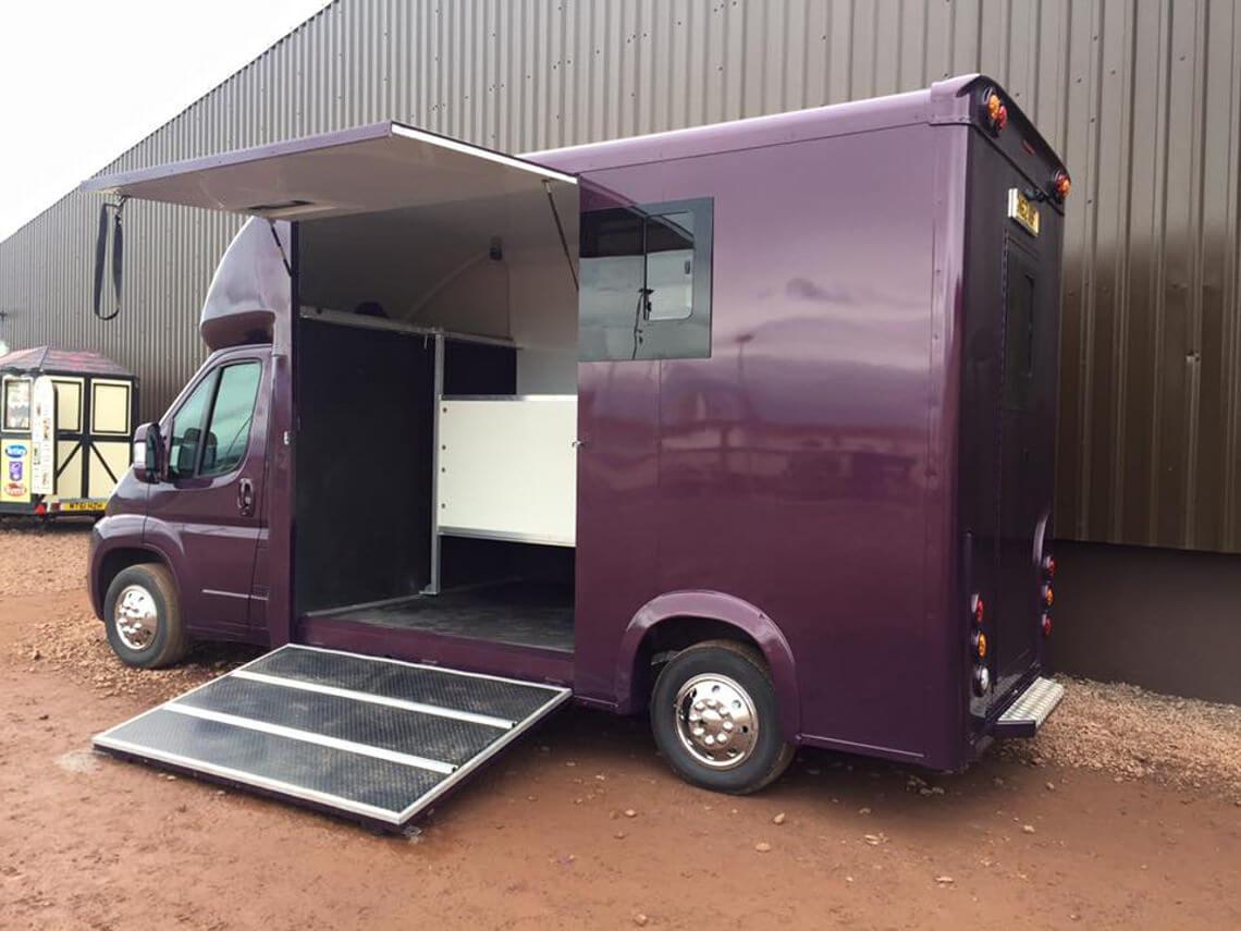 Vauxhall Movano Purple T35