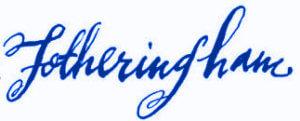 Fotheringham Signature