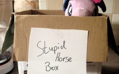 Stupid horse box —